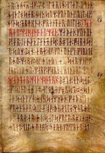 rune significato poema runica