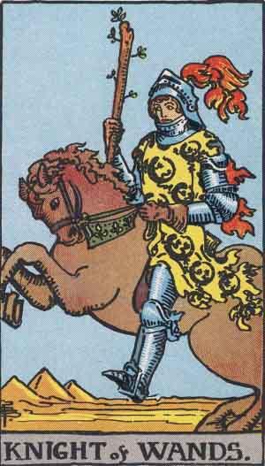 cavaliere di bastoni