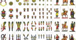 elenco completo carte napoletane