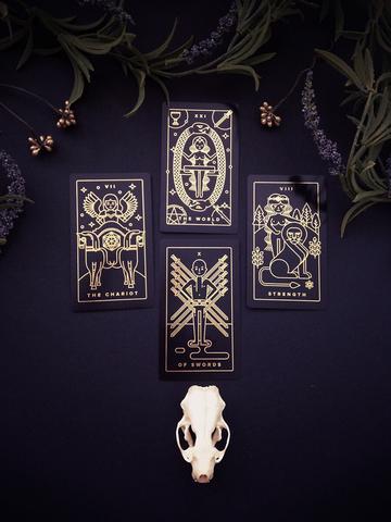 come leggere i tarocchi con 4 carte